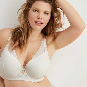 Aerie Mesh Push Up Bra